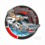 Patch Shark Riders