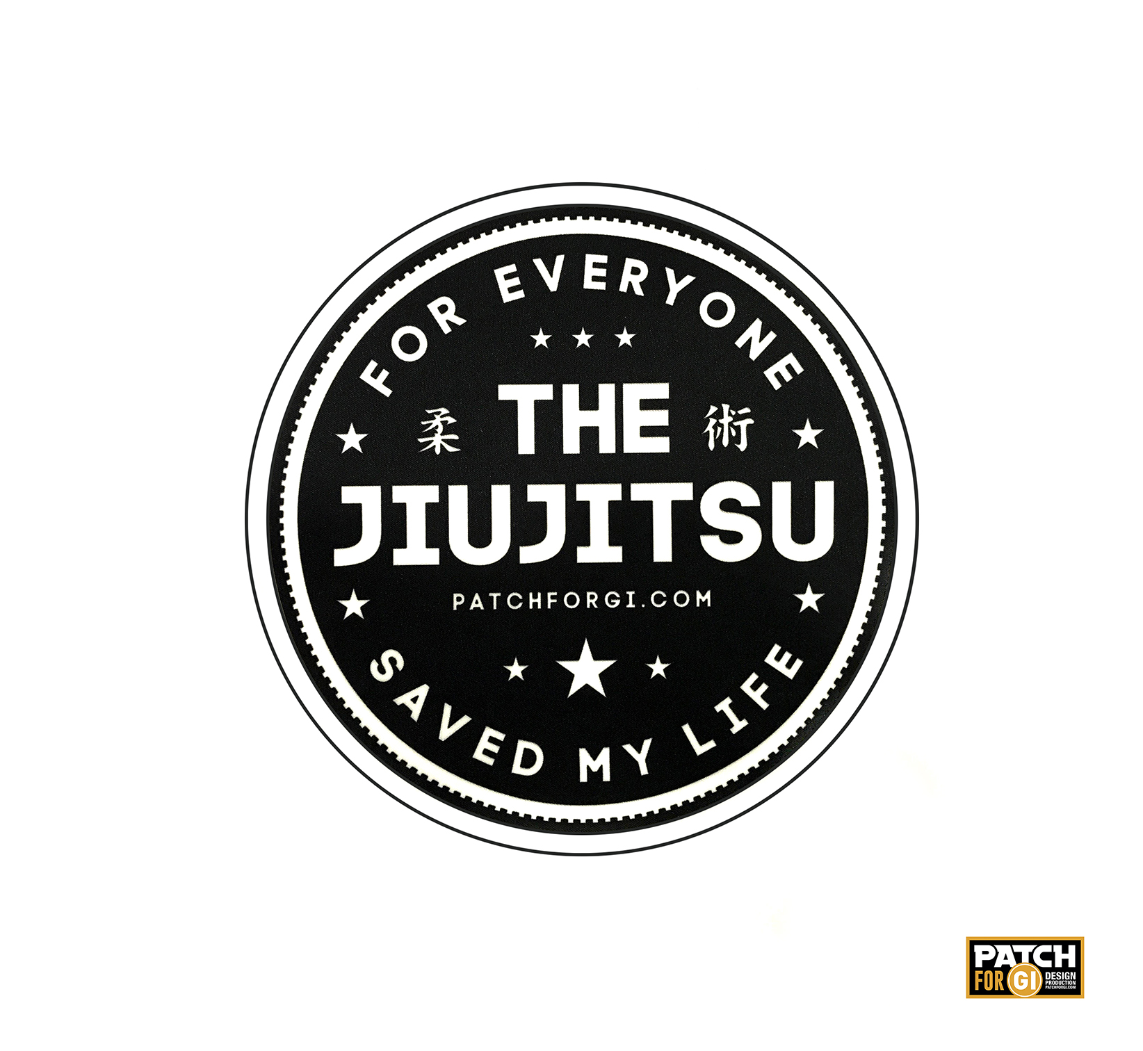 PATCH JIU-JITSU FOR EVERYONE